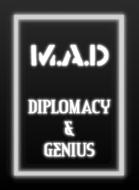 M.A.D - Diplomacy & Genius Pack (20 Cards)