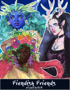 Art Pack: Fiendish Friends