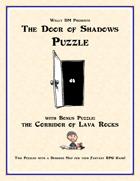 Door of Shadows Puzzle