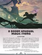 A Dozen Unusual Magic Items