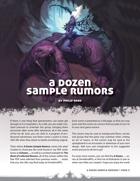A Dozen Sample Rumors