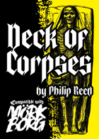 Deck of Corpses, A Third-Party Mörk Borg Card Deck