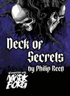 Deck of Secrets, A Third-Party Mörk Borg Card Deck