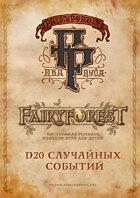 Fairyforest D20 random events generator
