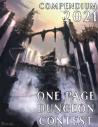 One Page Dungeon Compendium: 2021 Edition