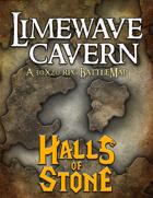 Battlemap - Limewave Cavern