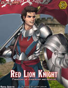 Somnus Domina: The Red Lion Knight (5e Martial Archetype) (Fantasy Grounds Mod)