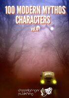 100 MODERN MYTHOS CHARACTERS vol4