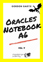 Oracles Notebook A6 + fillable PDF vol.5 (SOLO)