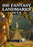 100 Fantasy Landmarks CR1to4