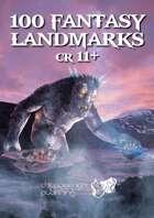 100 Fantasy Landmarks CR11+