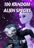 100 Random Alien Species