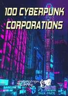 100 Cyberpunk Corporations