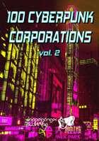 100 Cyberpunk Corporations v2