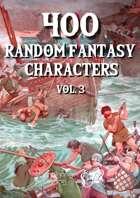 400 Generic Fantasy Characters vol3