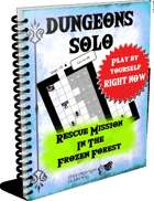 Dungeons Solo 2-Rescue Mission in Frozen Forest