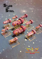 Stars and Steel miniatures - Takamura clan