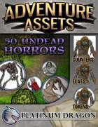Adventure Assets - 50 Undead Horrors