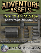 Adventure Assets - Battlemaps - Graveyard Encounters