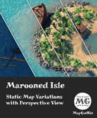 Marooned Isle - Static Map Variations with Perspective Views