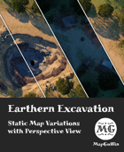 Earthen Excavation - Static Map Variations with Perspective Views
