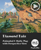 Jungle Dais - Animated & Static Map with Perspective Views
