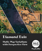 Jungle Dais - Static Map Variations with Perspective Views