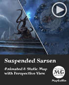 Suspended Sarsen - Storm - Animated & Static Map with Perspective Views