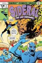 SIDERAL, THE LAST EARTHMAN #3