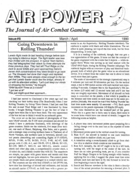 AP Journal of Air Combat Gaming #08