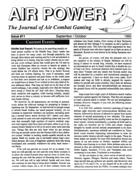 AP Journal of Air Combat Gaming #11