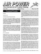 AP Journal of Air Combat Gaming #15