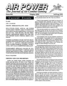 AP Journal of Air Combat Gaming #22