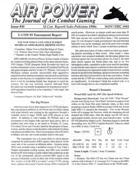 AP Journal of Air Combat Gaming #30