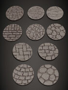 1INCH ROUND BASES
