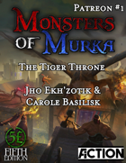 The Tiger Throne (Monsters of Murka expansion, 5e)
