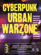 Cyberpunk Urban Warzone Map