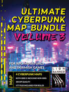 Ultimate Cyberpunk Map Pack Volume 3 [BUNDLE]