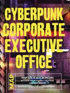 Cyberpunk Corporate Executive Office