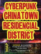 Cyberpunk Chinatown Residential District - 46x46