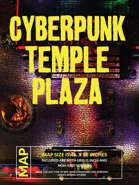 Cyberpunk Temple Plaza Battlemap