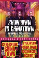 Showdown in Chinatown Cyberpunk Adventure + Battlemaps [BUNDLE]