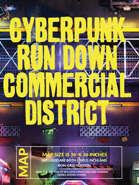 Cyberpunk Street Battlemap