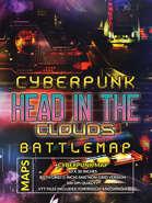 Cyberpunk Head in the Clouds Battlemap