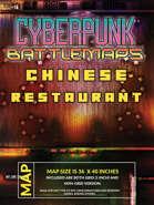 Cyberpunk Chinese Restaurant Battlemap