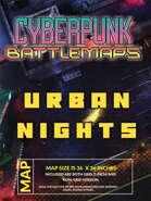 Cyberpunk - Urban Nights - Battlemap