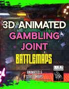 Animated Cyberpunk Gambling Joint Battlemap