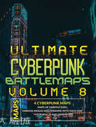 Ultimate Cyberpunk Maps Vol 8 [BUNDLE]