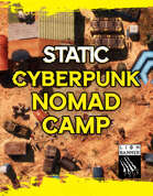 Cyberpunk Nomad Camp