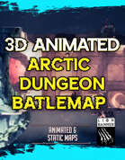 Animated Arctic Dungeon Battlemap